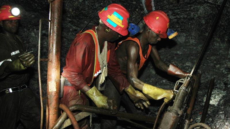 Officials said the six mining companies involved agreed to pay nearly $400m to miners who contracted lung disease [File: Themba Hadebe/AP]