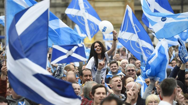 SNP report outlines new prospectus for Scottish independence | News | Al Jazeera