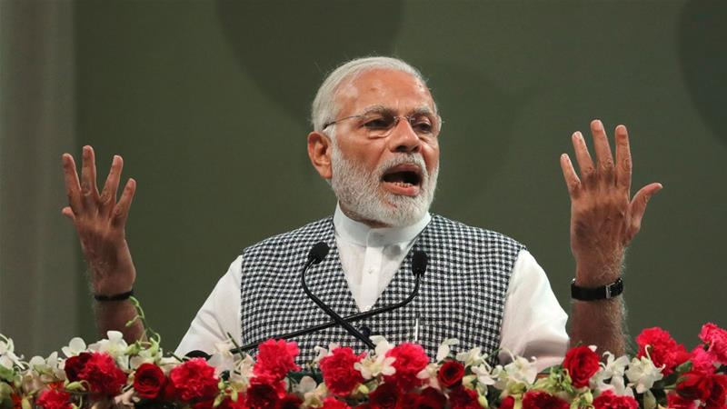 A win would have bolstered Modi's chances of a second term as prime minister in 2019 [Manish Swarup/AP]