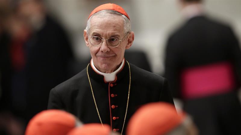 French Cardinal Jean-Louis Tauran visited Saudi Arabia in April [File: Max Rossi/Reuters]