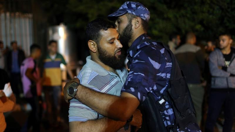 Hamas' military wing has held Israel responsible for the explosion [Ibraheem Abu Mustafa/Reuters]