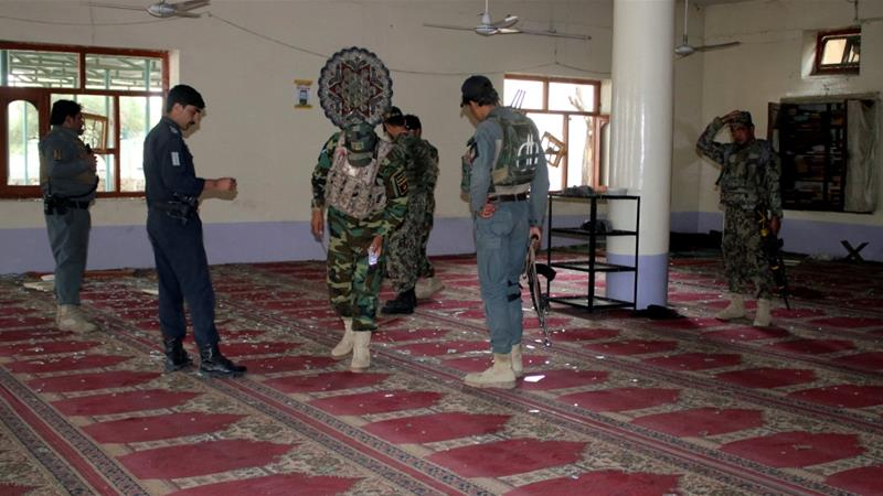 Afghan mosque attack kills 14