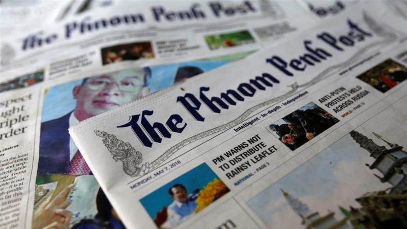 The Phnom Penh Post was founded in 1992 [Samrang Pring/Reuters]