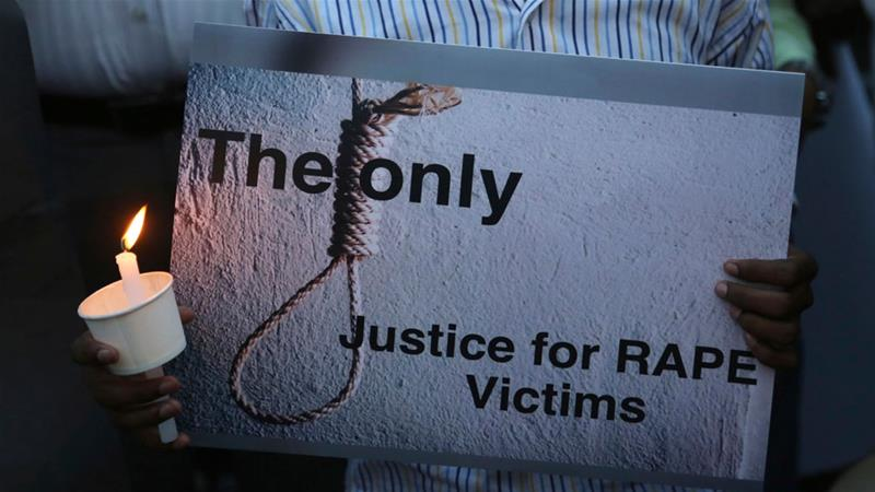 More than 40,000 rape cases are reported in India every year [Aijaz Rahi/AP]