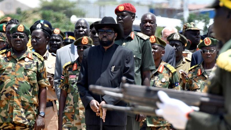 South Sudan's ruling party reunites before peace talks