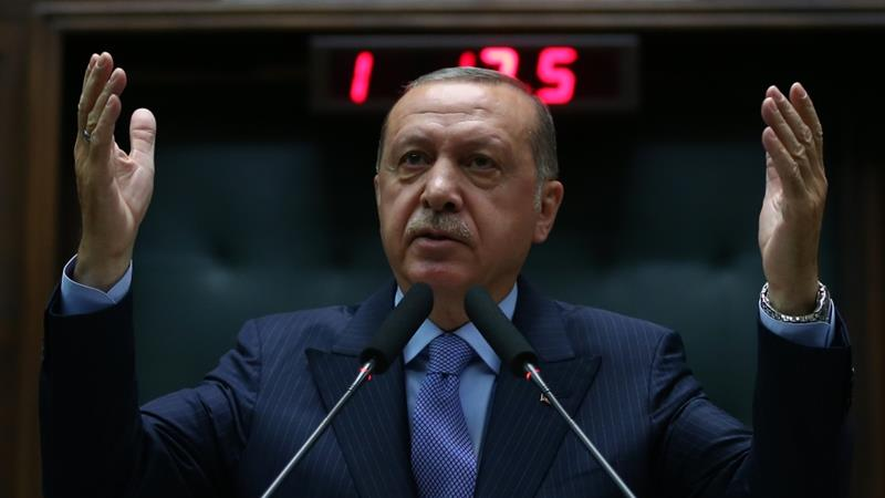 "Erdogan said: ""Who are you to attack our scriptures? We know how vile you are"" [Reuters]"