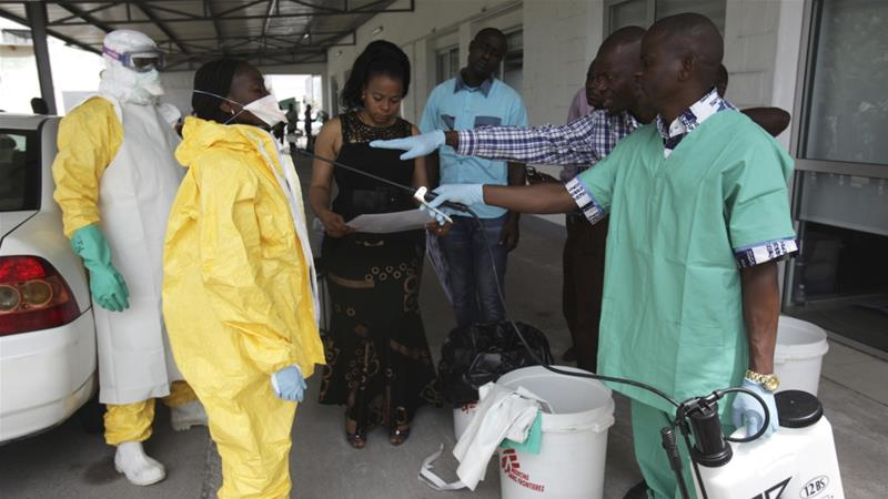 Health officials took samples from five suspected Ebola cases in Bikoro, Equateur Province [File: Reuters]