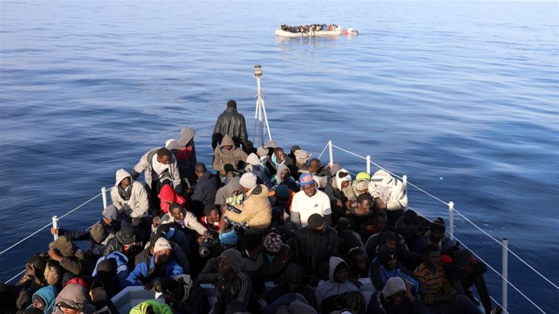 One in 14 people attempting the crossing from Libya to Italy have died this year, according to the UN [Hani Amara/Reuters]