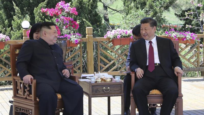 North Korea: Kim Jong-un met Xi in China before nuclear talks