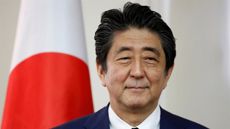 What Shinzo Abe needs is a major international event to thrust him back into the spotlight on a positive trajectory [Abir Sultan/Reuters]