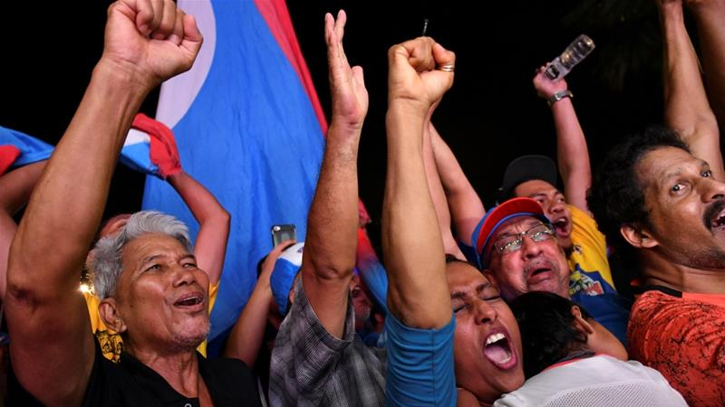 Malaysia's opposition pulls off shocking election win