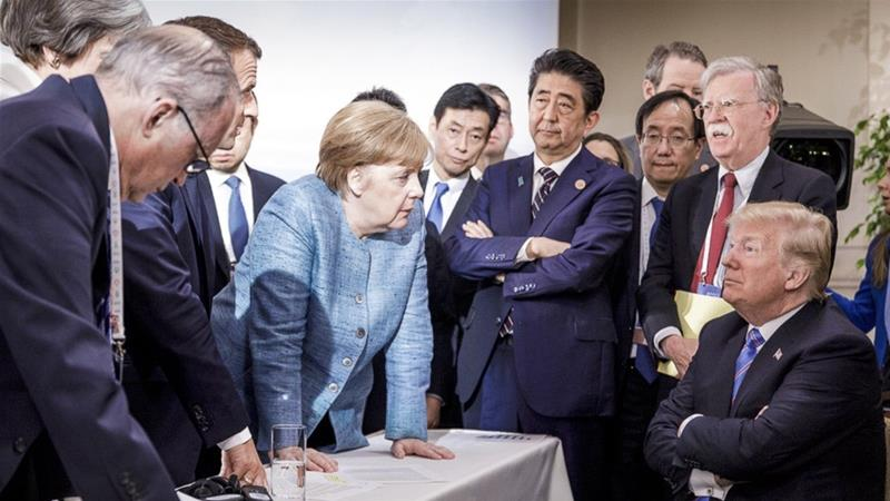 Trump torpedoes G7 bid to end trade spat