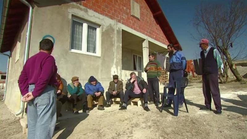 Return to Berkovo, the village where Serbs and Albanians