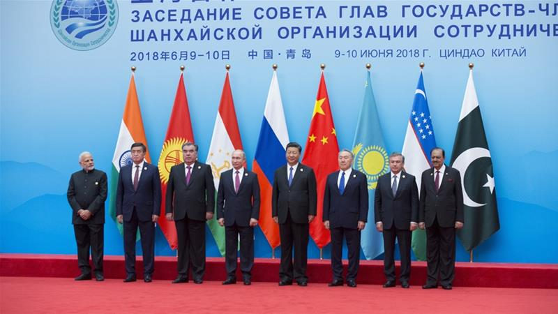 Xi Jinping called for the 'pursuit of cooperation for mutual benefit' at the SCO summit [Alexander Zemlianichenko/AP Photo]
