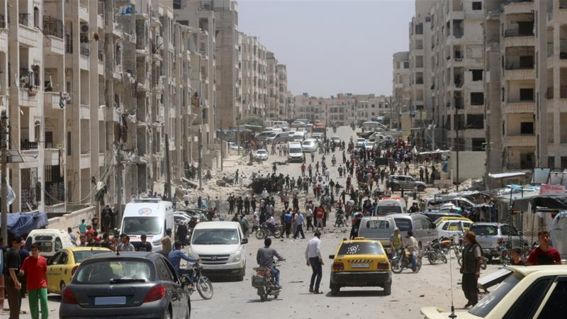The attacks came hours after deadly clashes erupted between Syrian government forces and rebel fighters [File: Anadolu]