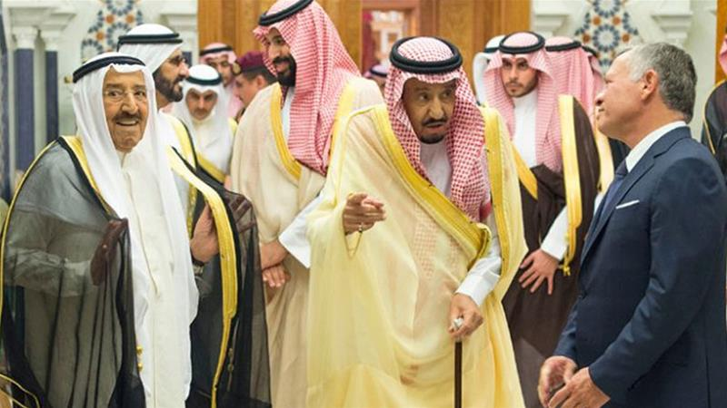 Analysts fear since the pledge was not a binding agreement it could be subjected to political pressures by the donor countries [Saudi Press Agency via AP]   [The Associated Press]