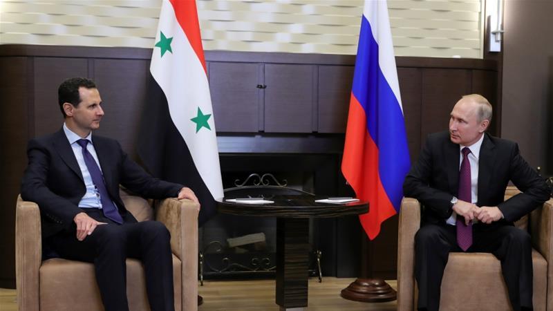 Putin met Assad in the Black Sea resort of Sochi, Russia in May [Reuters]