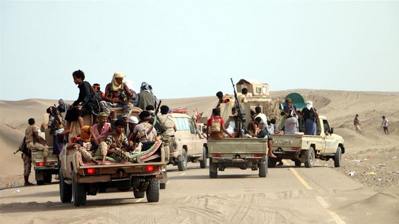 Scores of rebels killed in Yemen's western coast