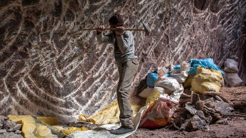 The last salt miners of Morocco
