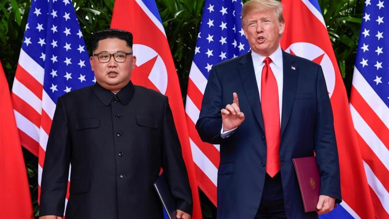 US President Donald Trump and North Korean leader Kim Jong-un met in Singapore after months of tensions