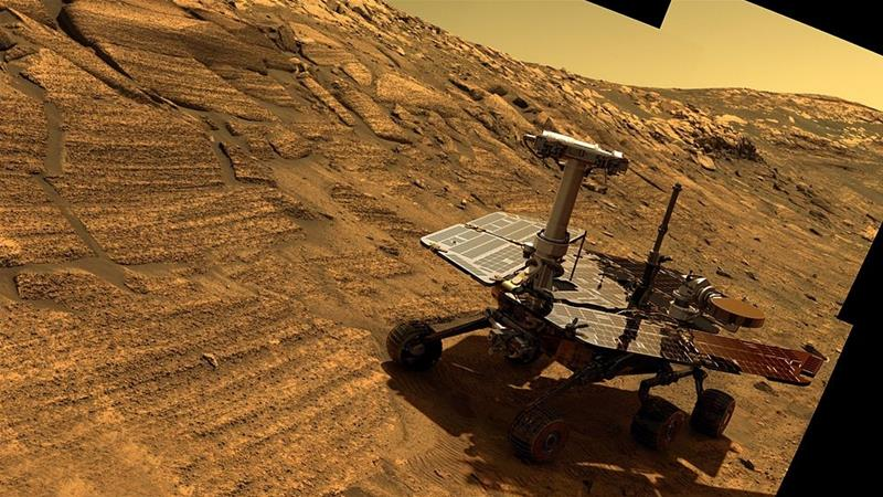 NASA's Opportunity rover falls silent