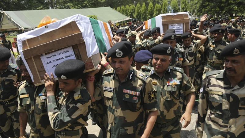 Indian soldiers killed in cross-border shelling