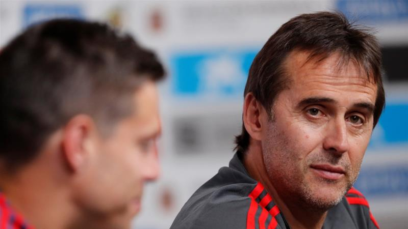 Lopetegui began coaching as Spain U17's assistant manager in 2003 [Reuters]