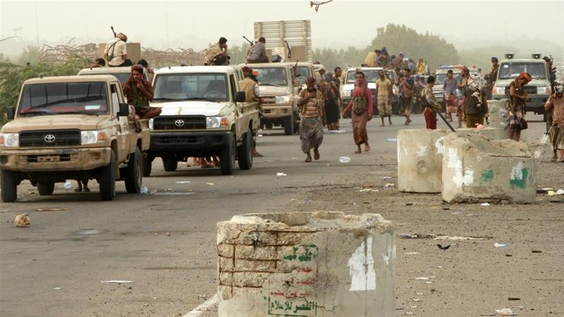 Saudi-led coalition enters main airport compound of Yemen's Hodeidah