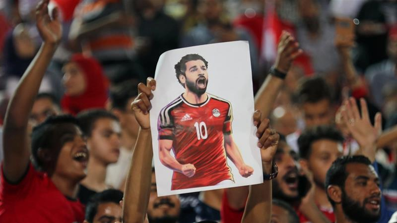 Egypt's Mohamed Salah given 100kg birthday cake by Chechen fans