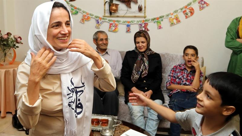Security forces previously arrested Sotoudeh in 2010; she was released from detention in 2013 [File: EPA]