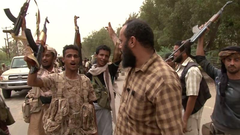 An alliance consisting of Saudi-coalition forces, the Yemeni army, and tribal fighters is trying to capture Hudaida from the Houthis [AFP]