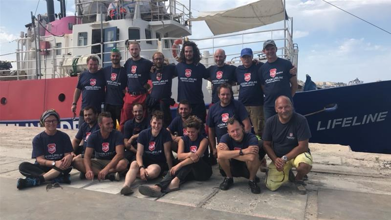 The Aquarius rescue ship arrives in Spain - Italianmedia