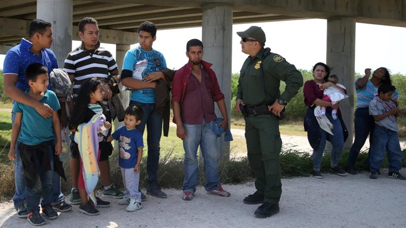 More than 2,000 children have been separated from their parents after crossing the border. [Loren Elliott/Reuters]