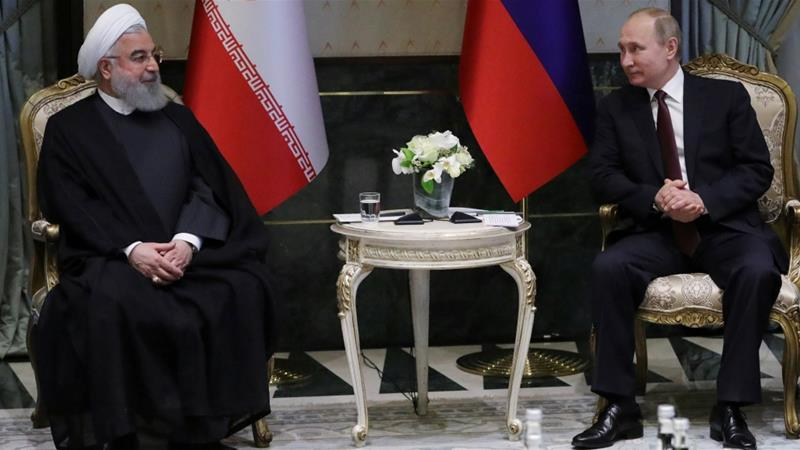 Kremlin has historically used Tehran as a counterweight or source of leverage to balance its relations with Western powers, particularly Washington, writes Behravesh [Reuters]