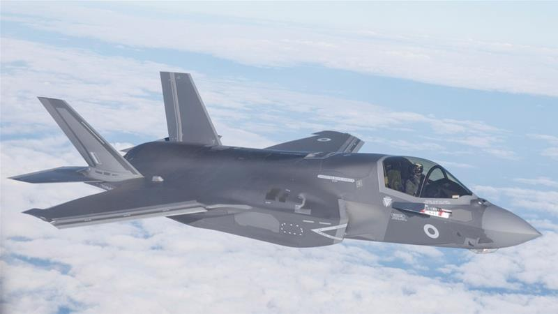 The first two F35s are supposed to be handed over to Turkey by June 21 for training and testing purposes [File: Reuters]