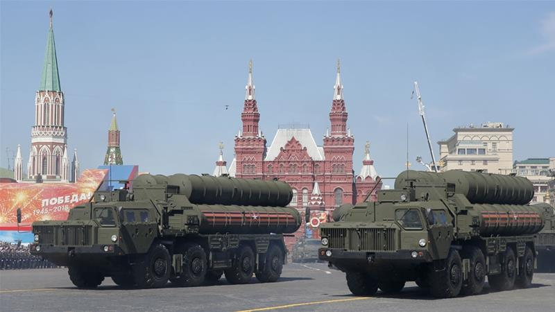 Kondratyev said Russia will pursue its own objectives in determining sales of its S-400 missiles [File: Angelo Carconi/EPA-EFE]