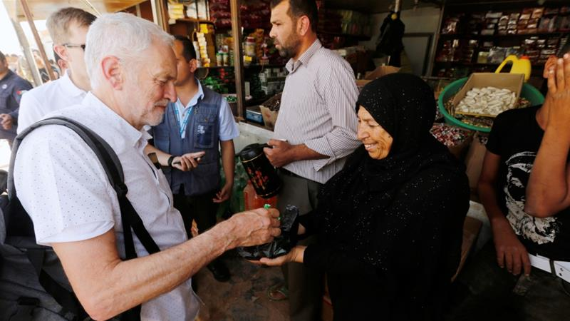 'Yalla Corbyn': Why some British Arabs support Labour