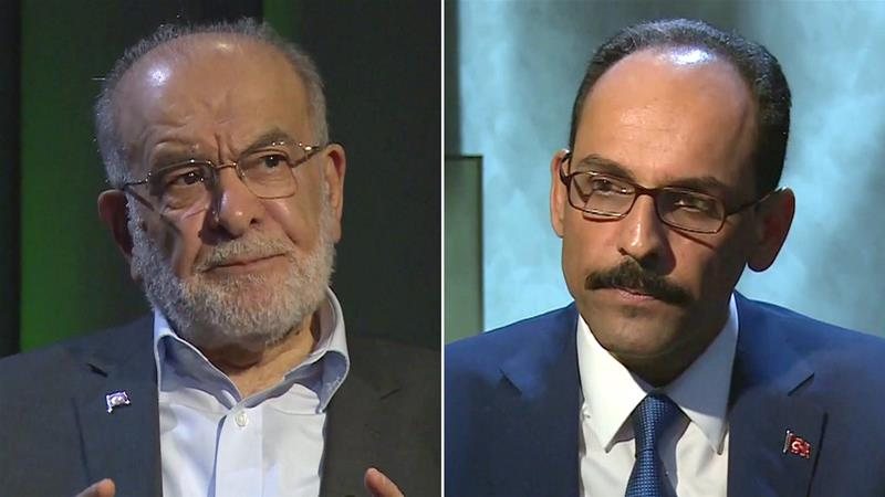 Turkey election special: Erdogan adviser vs Saadet Party leader