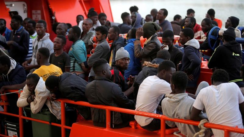ca4875f7658 Spain: Almost 800 refugees rescued off southern coast | Spain News ...