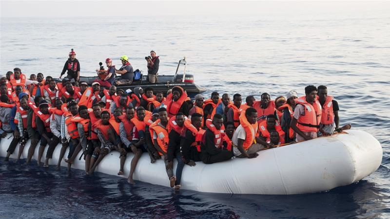 The political crisis over migration policy comes amid a significant drop in the number of migrants and refugees arriving [Hermine Poschmann/Mission Lifeline via The Associated Press]