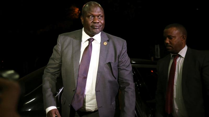 Before arriving in Addis Ababa this week, Machar had been under house arrest in South Africa [File: Tiksa Negeri/Reuters]