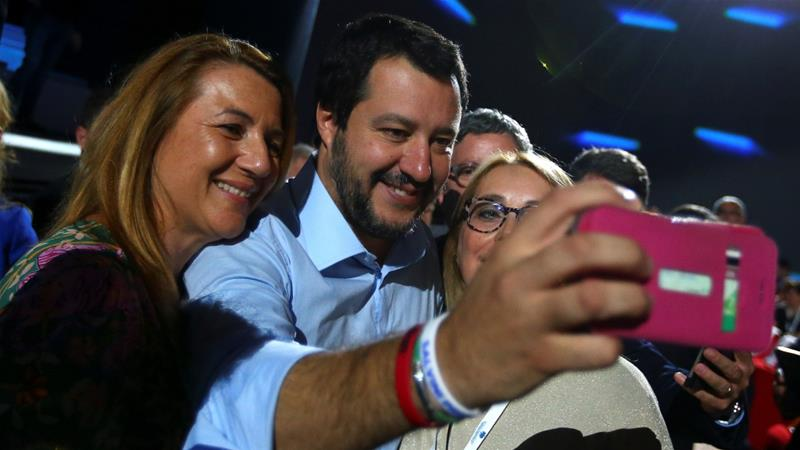 Who is Matteo Salvini, Italy's new radical interior minister