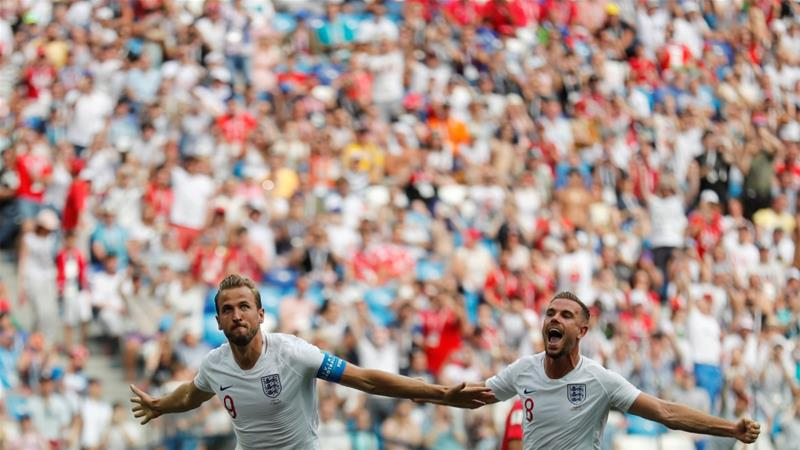 England hat trick hero Kane basks in World Cup rout