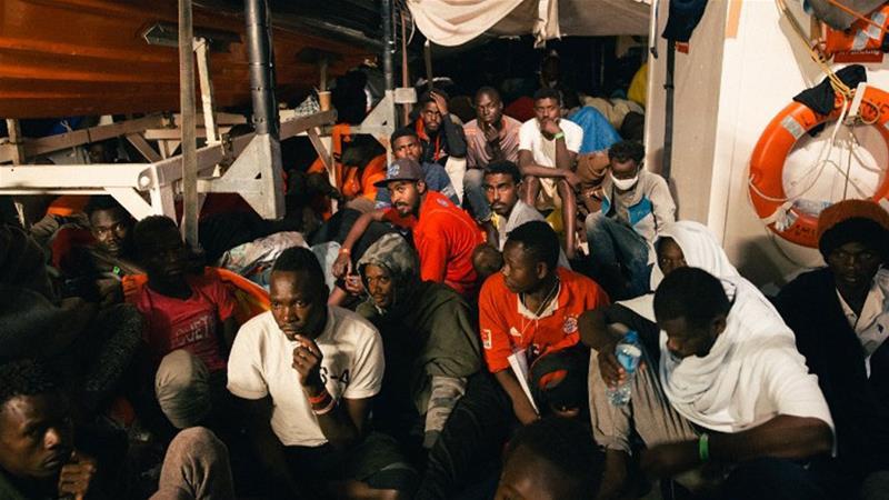 More migrants in limbo as Italy blocks Lifeline boat