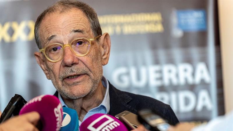 Former Nato chief Javier Solana denied United States  visa waiver