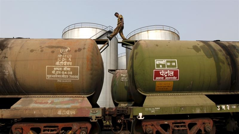 Industry sources said India, the biggest buyer of Iranian oil after China, will be forced to take action to protect its exposure to the US financial system [File: Rupak De Chowdhuri/Reuters]