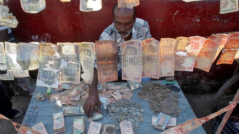 The Indian currency had touched its previous record low of 68.8650 per dollar on November 24, 2016 [Reuters]