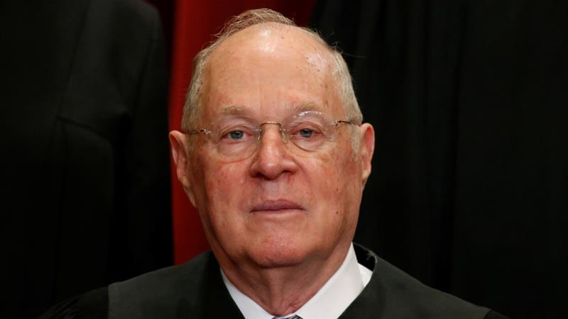 Supreme Court Justice Anthony Kennedy has announced his retirement after holding his position for more than 30 years [Reuters]