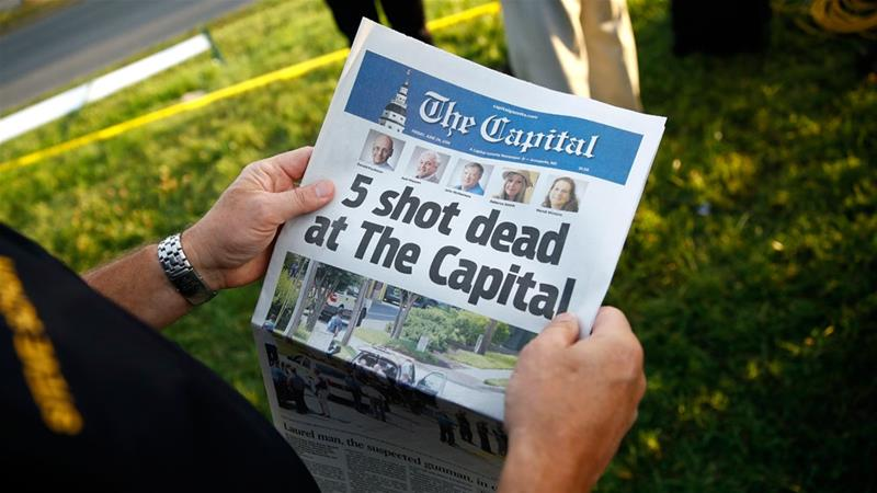 Capital Gazette: Victims remembered in first edition after attack