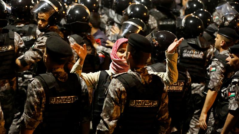 Jordan sees largest anti-government protests in years